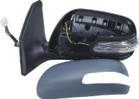 Toyota Avensis [07-09] Complete Electric Mirror Unit with Indicator - Primed